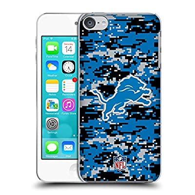 Head Case Designs Officially Licensed by NFL Digital Camouflage 2018/19 Detroit Lions Hard Back Case Compatible with Apple Touch 6th Gen/Touch 7th Gen