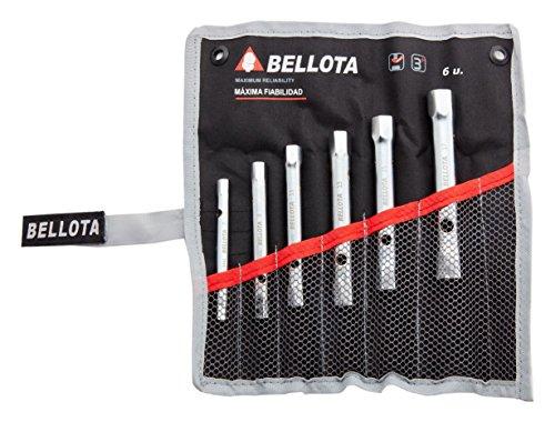 Bellota 64956BS Pack de 6 llaves tubo huecas