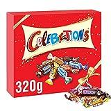 Celebrations Caja de regalo de chocolate de Navidad (Maltesers, Galaxy, Snickers y más), ...