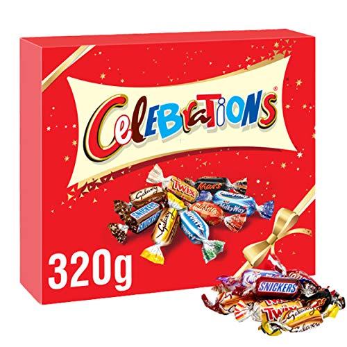 Celebrations Schokoladen-Geschenkpackung, 320 g.