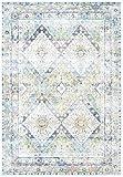 CarpetFine: Vintage Heaven Teppich 80x150 cm Blau - Ornament