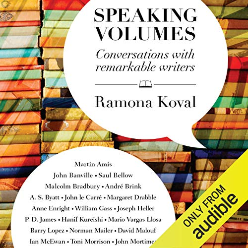 Speaking Volumes audiobook cover art