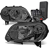 hhr headlight assembly - OE Style Smoked Housing Clear Corner Headlight Lamps+Tool Kit Replacement for Chevy HHR 06-11