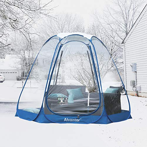 Alvantor Winter Screen House Room Camping Tent