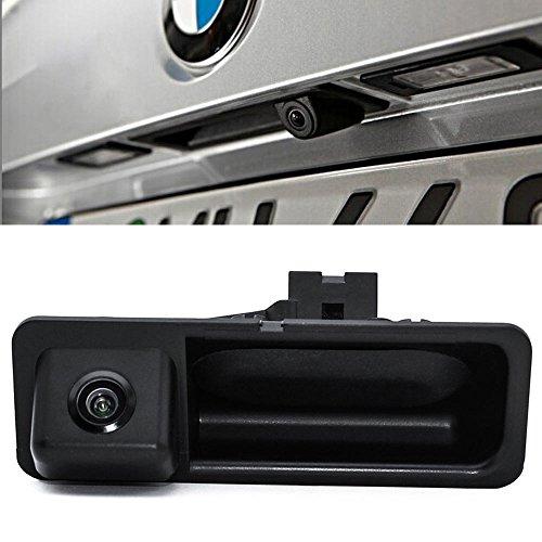 Navinio Wasserdicht Nachtsicht Auto Kofferraum Griff Rückfahrkamera Replacement for BMW X5 X1 X6 E39 E46 E53 E82 E84 E88 E90 E91 E92 E93 E60 E70 E71