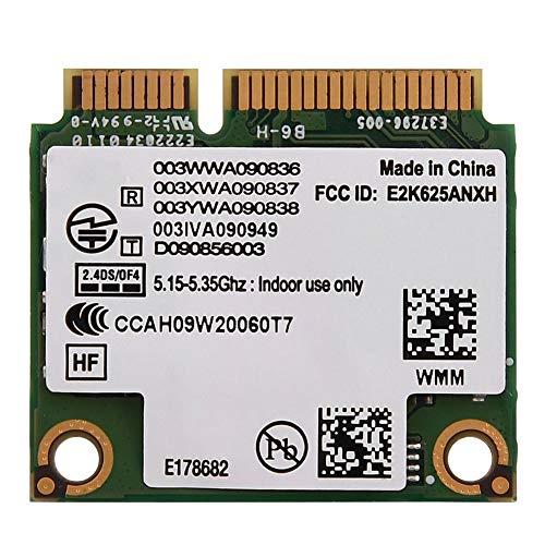 Tarjeta WiFi para Computadora Portátil, Dual Band 2.4G / 5G Mini PCI-E WiFi 300Mbps 802.11AN Tarjeta de Red inalámbrica para computadora portátil para Intel 6250AGN + WiMax para DELL ASUS Toshiba
