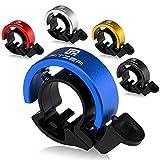 FITZER® - Timbre para bicicleta - 5 colores diferentes - Sonido claro - Timbre bicicleta - Volumen óptimo