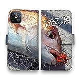 AnglersLife 手帳型 スマホケース iPhone アイフォン タイラバでマダイ! 【iPhone12】