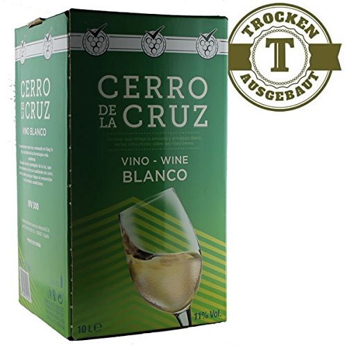 Weißwein Spanien Macabeo Cerro de la Cruz Bag in Box trocken (1x10L)
