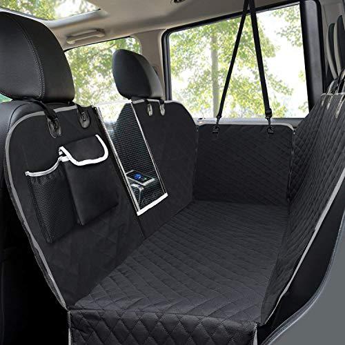 ペキュート[Pecute] 2019新型ペット用ドライブシート トランクシート ベルクロデザイン 汚れに強い防水シー...