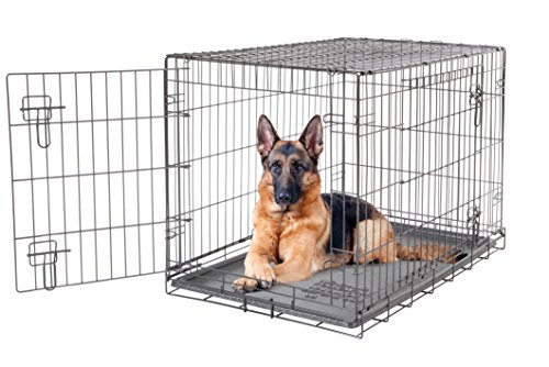 Dogit 2 Door Wire Cage/Home, Black, 106.5 x 70 x...