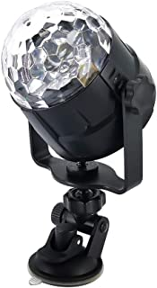 Udele-Store - 15 Colors LED USB 5W Sound Activated Car DJ Disco Ball Lumiere Projector RGBP Stage Lighting Effect Lamp Light Music Party