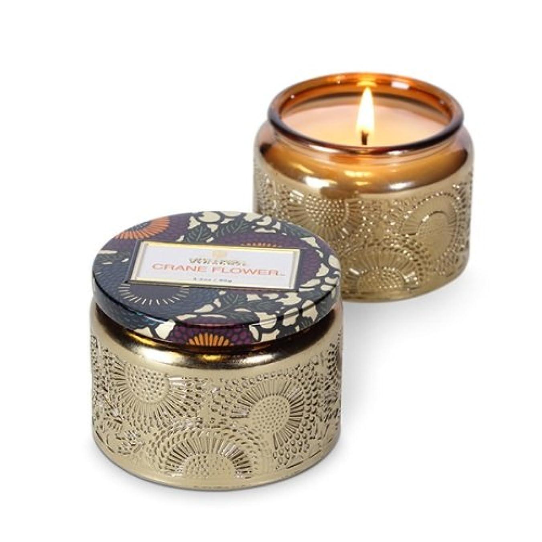 受け入れる創造減衰Voluspa ボルスパ ジャポニカ グラスジャーキャンドル S クレーンフラワー JAPONICA Glass jar candle CRANE FLOWER
