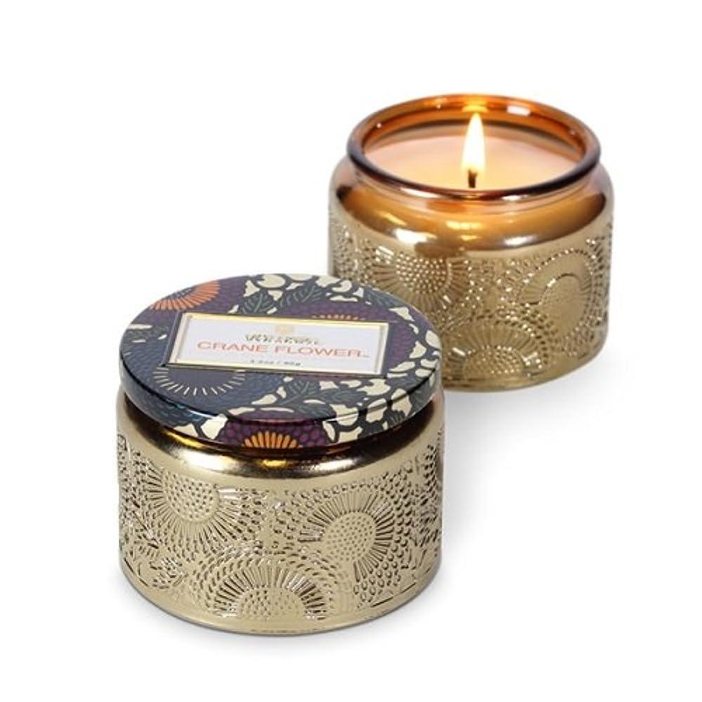 化学強要恥Voluspa ボルスパ ジャポニカ グラスジャーキャンドル S クレーンフラワー JAPONICA Glass jar candle CRANE FLOWER