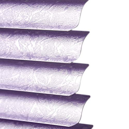 Persianas venecianas PVC Horizontal Ciega Púrpura, Cocina Aceite-Prueba Ciega Resistente Al Agua...