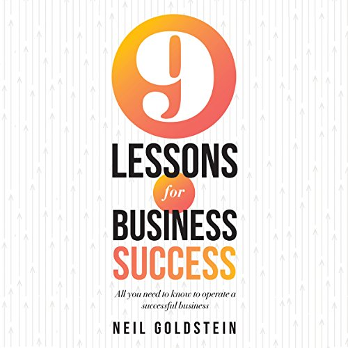 Nine Lessons for Business Success audiobook cover art
