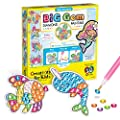 Creativity for Kids Big Gem Diamond Painting Kit - Create Your Own Under The Sea Friends Diamond Art Stickers and Suncatchers - Mermaid and Sea Diamond Art for Kids
