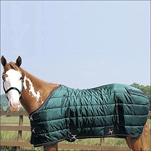 "Weaver Heavyweight Quilted Winter Stable Blanket (300 Grams) - Size:74"" Color:Hu"