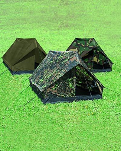 TENTE DE CAMPING 2 PLACES VERT OLIVE OD ETANCHE CAMOUFLAGE MILTEC 14206001 AIRSOFT
