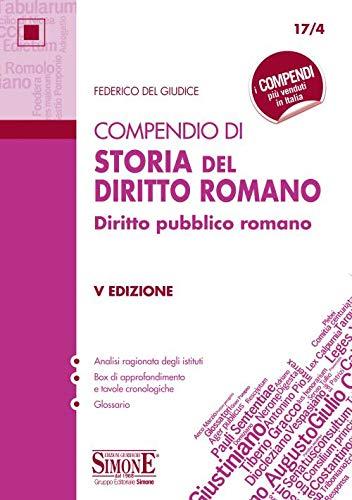 Compendio di storia del diritto romano. Diritto pubblico romano