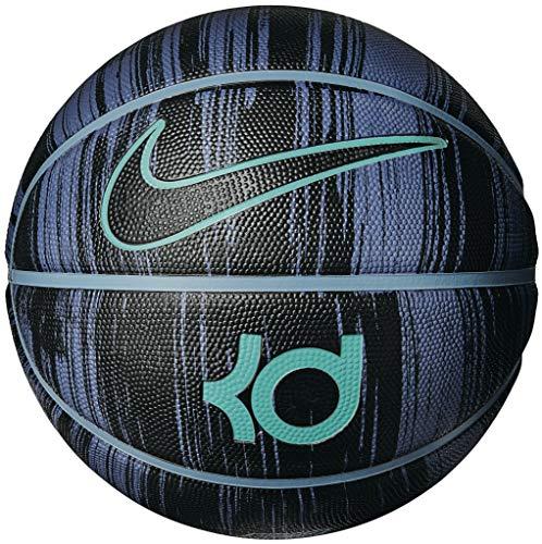 Nike Balón de baloncesto Kevin Durant 07 Playground 8P NBA GSW (Difused Blue/Cerulean/Hyper Jade/Black)
