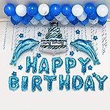 Globos para fiesta de cumpleaños, decoración para niños, decoración de cumpleaños