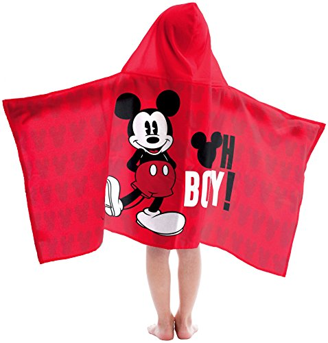 Mickey Mouse Oh Boy Hooded Bath Towel