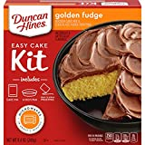 Duncan Hines Perfect Size Golden Fudge Cake & Frosting Mix, 8.4 oz