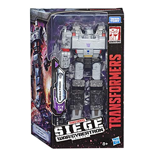 Transformers E3543ES0 Generations War for Cybertron: Siege Typ Voyager WFC-S12 Megatron Action-Figur