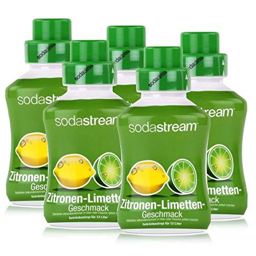SodaStream Getränke-Sirup Softdrink Zitronen-Limetten Geschmack 500ml (5er Pack)