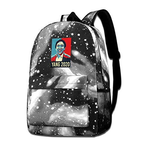Lawenp Galaxy Backpack Yang 2020 Kid's Fashion Backpacks Bag for School Travel Business Shopping Work