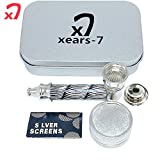 XEARS- PIPE Mini Grinder kit zinc Alloy Jamaican Style, This is a Very Good Gift...