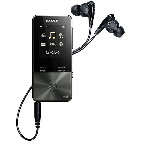 ソニー ウォークマン Sシリーズ 16GB NW-S315 : MP3プレーヤー Bluetooth対応 最大52時間連続再生 イヤホン付属 2017年モデル ブラック NW-S315 B