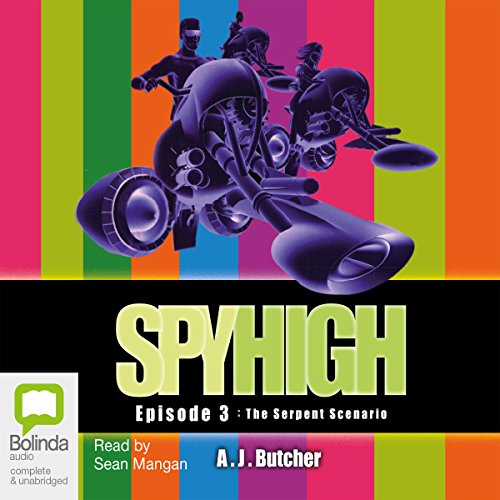 Spy High Episode #3 audiobook cover art