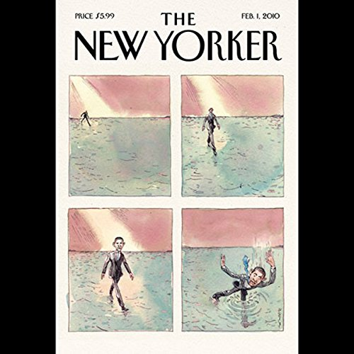 The New Yorker, February 1, 2010 (Edwidge Danticat, Ben McGrath, George Packer) cover art