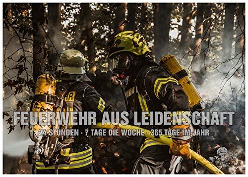BACKDRA A1 Poster | Feuerwehr aus Leidenschaft