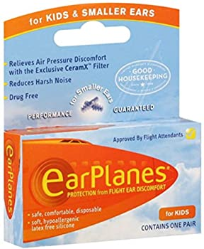 EarPlanes Ear Plugs Kid s Small Size 1 Pair  Pack of 6
