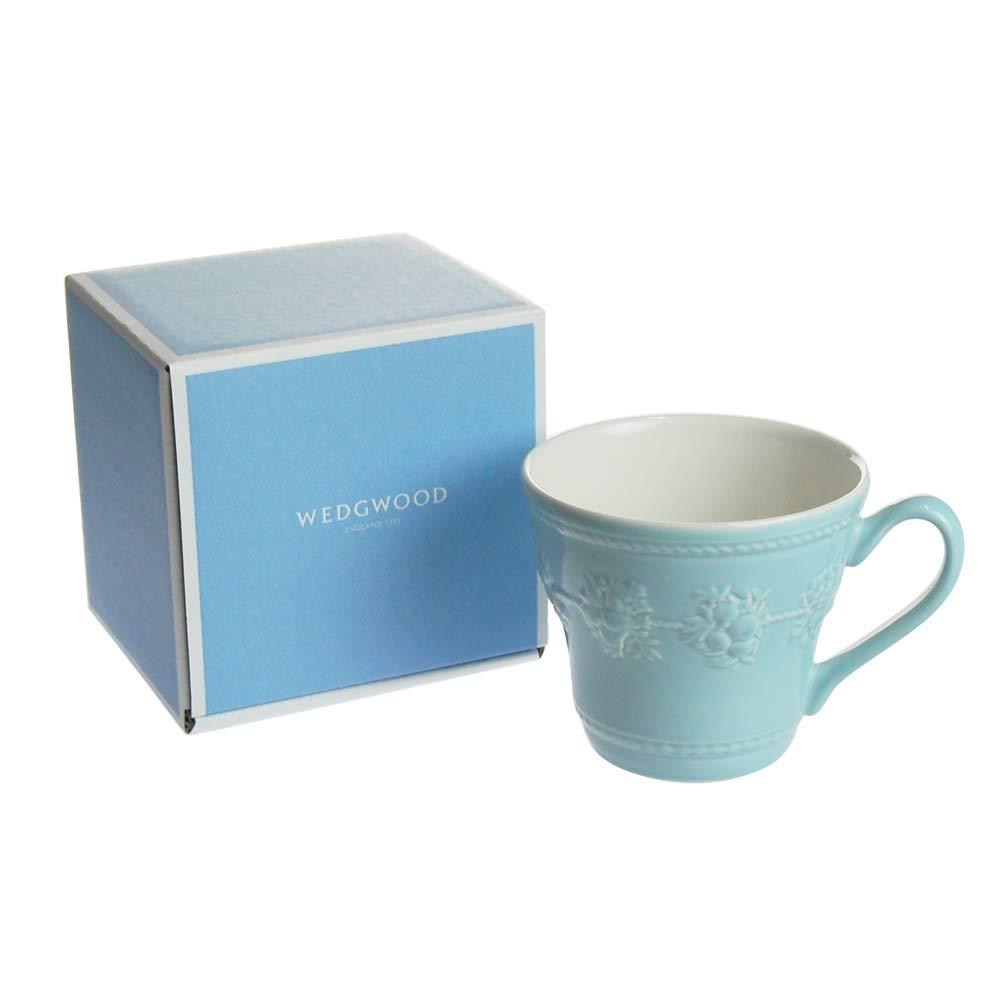 WEDGWOOD (ウェッジウッド) フェスティビティ ブルー マグカップ [並行輸入品]