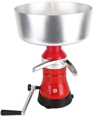EC Kitchen 手動式 ミルクセパレーター クリームセパレーター 80L/h 大容量 電源不要 ミルク クリーム 牛乳 遠心分離機 業務用 家庭用