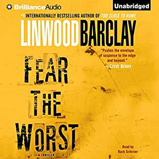 Fear the Worst audiobook cover art