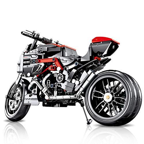 Bloques de construcción Nuevo Creator Technic Motor Ducatied Motocicleta Todoterreno ORV Kit De Bloques De Construcción Ladrillos Modelo Clásico Juguetes para Niños Regalos para Niños