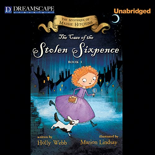 The Case of the Stolen Sixpence audiobook cover art