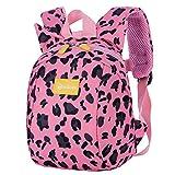 Schoolbags Linda Posterior del Animal Paquete Kinder Estampado Leopardo De...