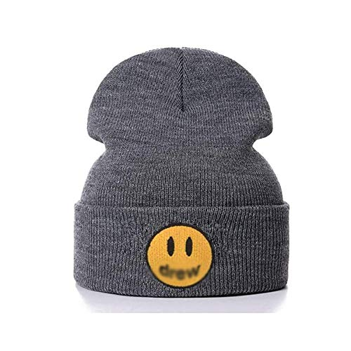 Winter Beanie Knit Hats for Men & Women Cold Weather Stylish Skull Cap … Gray