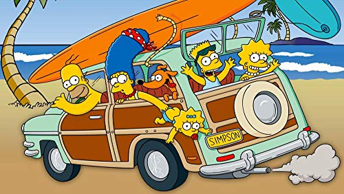 Lcyab Puzzles Infantiles De Madera Juegos Los Simpsons Poster C Juguetes Educativos De Aprendizaje Juguete Rompecabezas De Madera Para Niños Pequeños