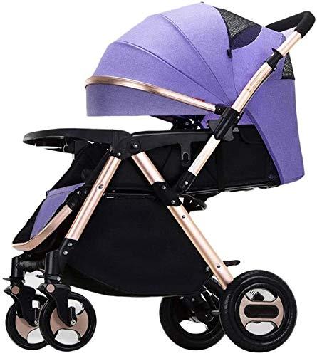 TGFVGHB Ligera Paisaje de la Alta aleación de Aluminio del Cochecito de bebé Puede Sentarse Doblar bebé Trolley Amortiguador Los cochecitos de niño de 1-3 años cochecitos Buggies Capazo