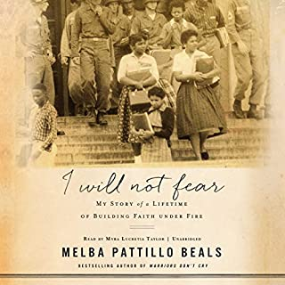 I Will Not Fear audiobook cover art