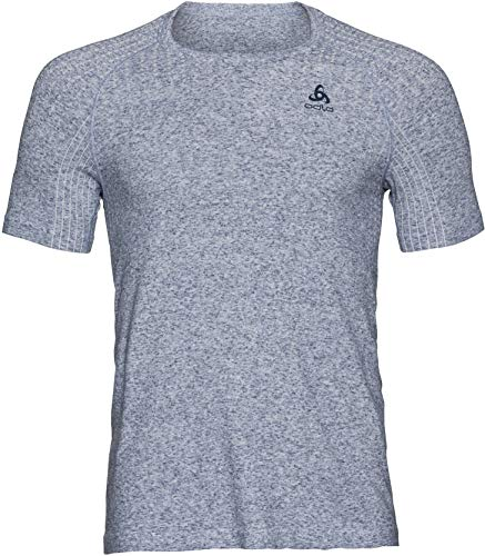 Odlo Millennium LINENCOO T-Shirts Homme, Ensign Blue Melange, FR : L (Taille Fabricant : L)