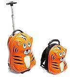 Travel Buddies Luggage, Tinko Tiger/Orange