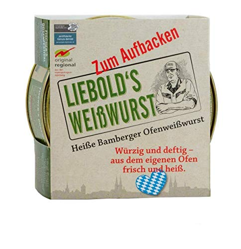 Liebold's Weißwurst 5er Set zum Aufbacken